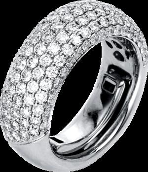 Ring Brogle Selection Statement aus 750 Weißgold mit 133 Brillanten (2,02 Karat)