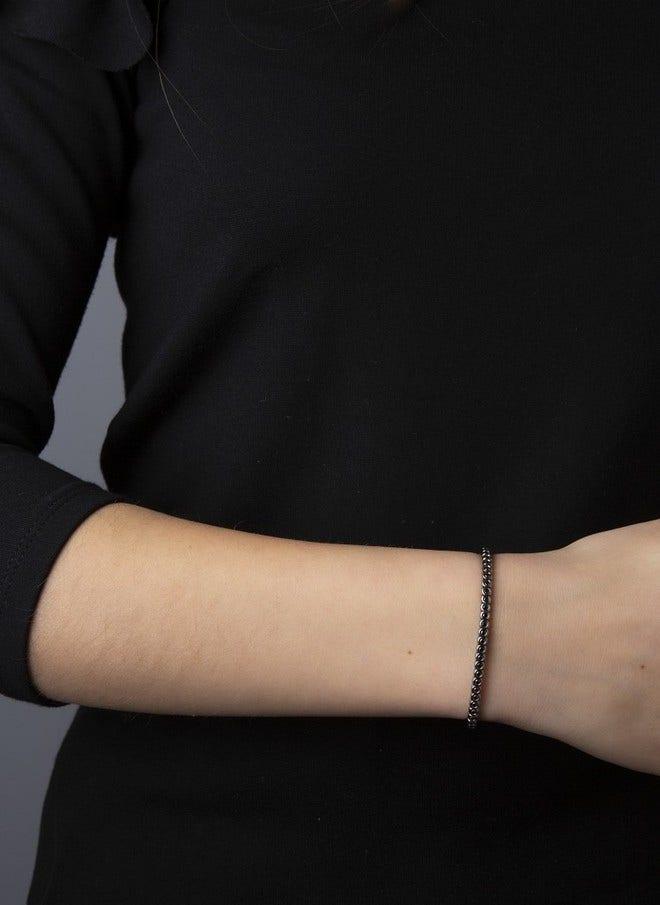 Armband Brogle Selection Timeless Flex aus 750 Weißgold mit 65 Brillanten (1,46 Karat) bei Brogle