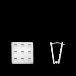 Calvin Klein Ohrring Grid KJ41AE010100