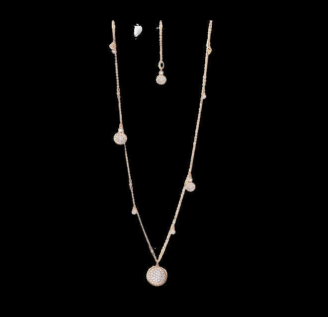 Halskette mit Anhänger Capolavoro Dolcini Highlight aus 750 Roségold mit mehreren Brillanten (1,4 Karat) bei Brogle