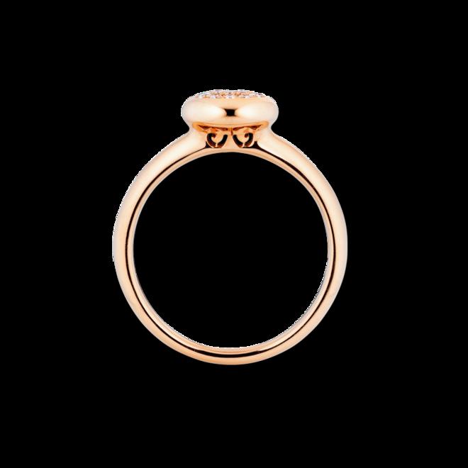 Ring Capolavoro Dolcini aus 750 Roségold mit 19 Brillanten (0,1 Karat) bei Brogle
