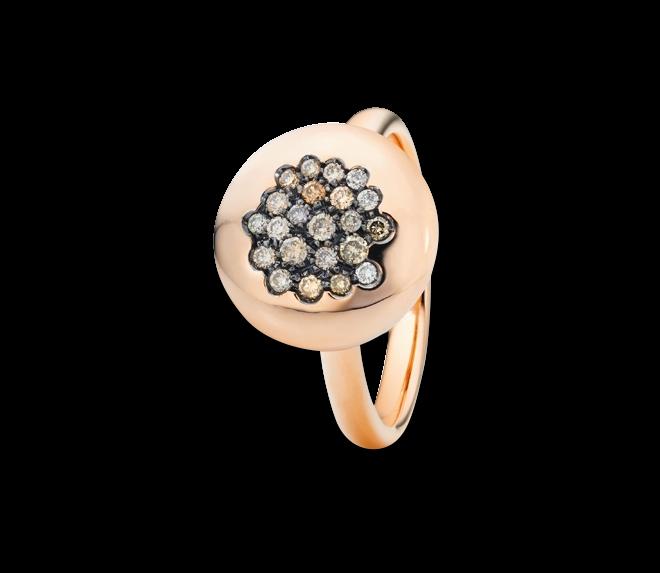 Ring Capolavoro Dolcini aus 750 Roségold mit 22 Brillanten (0,27 Karat) bei Brogle