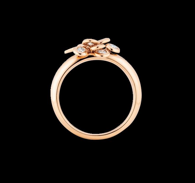 Ring Capolavoro Prosecco aus 750 Roségold mit 7 Brillanten (0,33 Karat) bei Brogle
