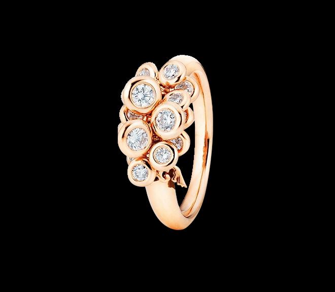 Ring Capolavoro Prosecco aus 750 Roségold mit 15 Brillanten (0,75 Karat) bei Brogle