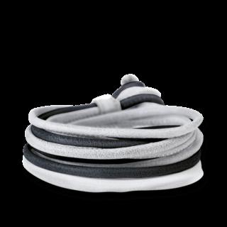 Capolavoro Armband Schwarz-Hellgrau AB0000110.SCHW.+H.GRAU