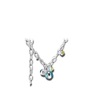 Capolavoro Halskette mit Anhänger Velluto Highlight CO8PER00653