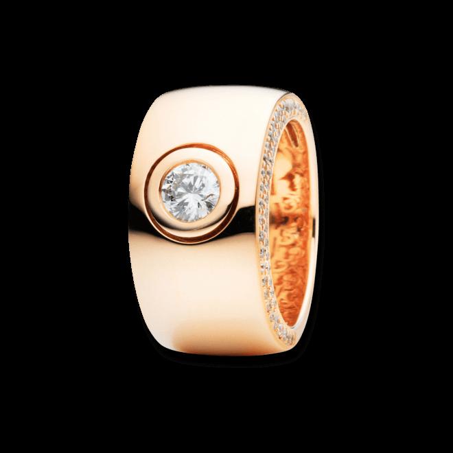 Ring Capolavoro Eleganza aus 750 Roségold mit 95 Brillanten (0,81 Karat) bei Brogle