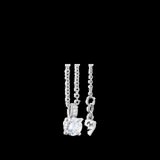 Capolavoro Halskette mit Anhänger Diamante in Amore 4-er Krappe CO8B05010.0.50TW-VS