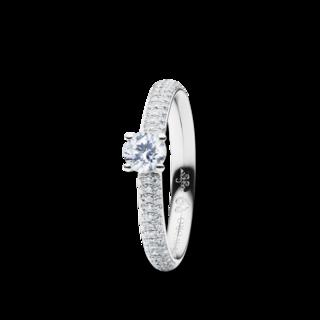 Capolavoro Solitairering Diamante in Amore 4-er Krappe RI8B05023.0.33TWVS-Z