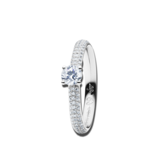 Capolavoro Solitairering Diamante in Amore 4-er Krappe RI8B05023.0.70TWVS-Y