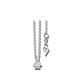 Capolavoro Halskette mit Anhänger Diamante in Amore 6-er Krappe CO8B05012.0.05TW-VS