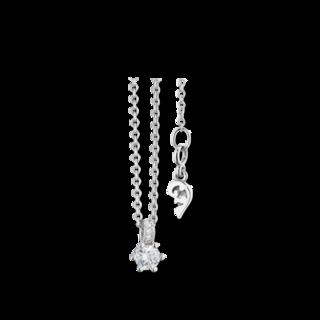 Capolavoro Halskette mit Anhänger Diamante in Amore 6-er Krappe CO8B05012.0.25TWVS