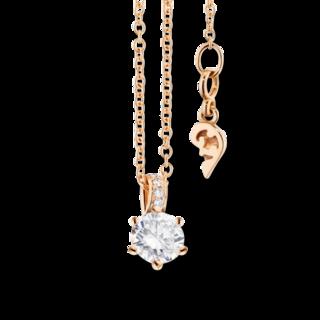 Capolavoro Halskette mit Anhänger Diamante in Amore 6-er Krappe CO9B05012.0.10TW-VS