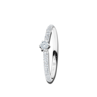 Capolavoro Solitairering Diamante in Amore 6-er Krappe-Pavé RI8B05025.0.05TWVS