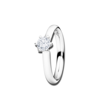 Capolavoro Solitairering Diamante in Amore 6-er Krappe RI8B05024.0.05TWVS