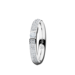 Capolavoro Ring Diamante in Amore RI8B05021.0.10TWVS