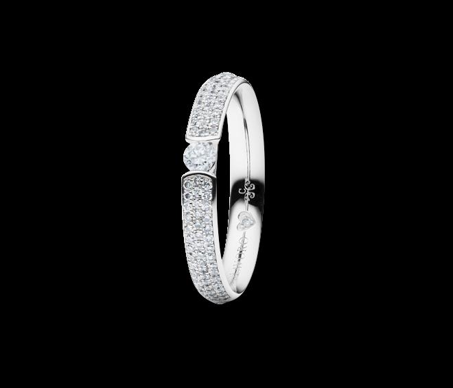 Ring Capolavoro Diamante in Amore aus 750 Weißgold mit 64 Brillanten (1,555 Karat) bei Brogle