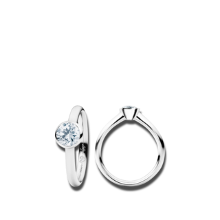 Capolavoro Ring Diamante in Amore RI8B05028.0.75TWVS-Y