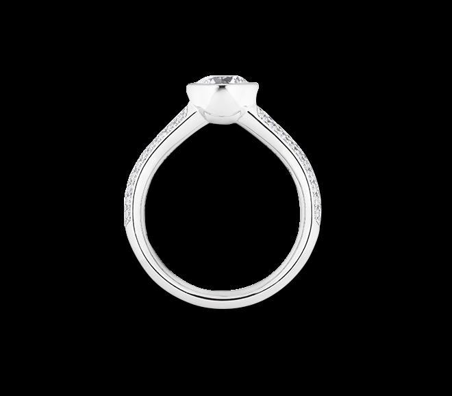 Ring Capolavoro Diamante in Amore aus 750 Weißgold mit 100 Brillanten (0,295 Karat) bei Brogle