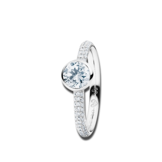Capolavoro Ring Diamante in Amore RI8B05029.0.75TWVS-Y