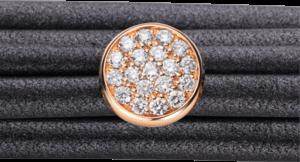 Schmuck-Element Capolavoro Dolcini aus 750 Roségold mit 19 Brillanten (0,36 Karat)