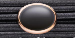 Schmuck-Element Capolavoro Velluto aus 750 Roségold mit 1 Mondstein