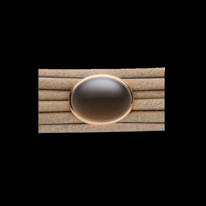 Schmuck-Element Capolavoro Velluto aus 750 Roségold mit 1 Rauchquarz bei Brogle