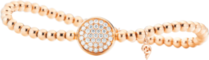 Armband Capolavoro Dolcini Flessibile aus 750 Roségold mit 37 Brillanten (0,59 Karat)