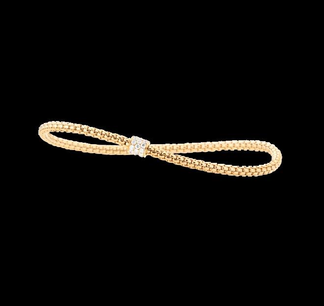 Armband Capolavoro Flessibile aus 750 Gelbgold mit 23 Brillanten (0,31 Karat) bei Brogle