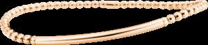 Armband Capolavoro Flessibile aus 750 Roségold