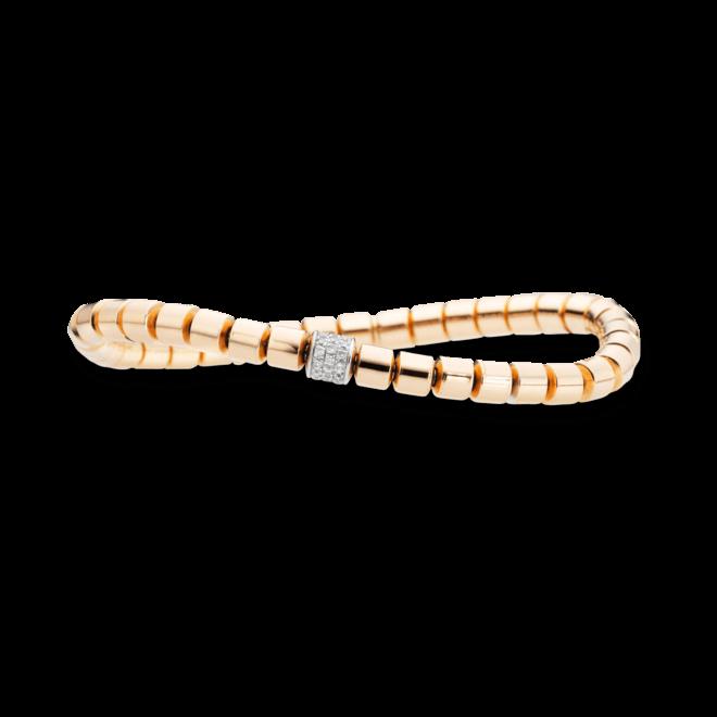 Armband Capolavoro Flessibile aus 750 Roségold mit 36 Brillanten (0,3 Karat) bei Brogle