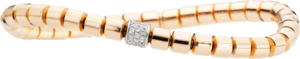 Armband Capolavoro Flessibile aus 750 Roségold mit 36 Brillanten (0,3 Karat)