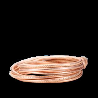 Capolavoro Armband Lachs Metallic AB0000108.LACHS-MET.38