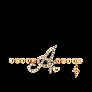 Capolavoro Armband mit Anhänger Poesia Flessibile Buchstabe A AB7BRW00300.A.INNEN.17