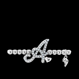 Capolavoro Armband mit Anhänger Poesia Flessibile Buchstabe A AB8BRW00300.A.INNEN.17