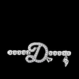 Capolavoro Armband mit Anhänger Poesia Flessibile Buchstabe D AB8BRW00300.D.INNEN.17