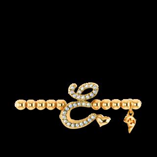Capolavoro Armband mit Anhänger Poesia Flessibile Buchstabe E AB7BRW00300.E.INNEN.17