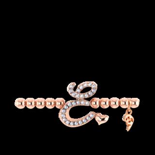 Capolavoro Armband mit Anhänger Poesia Flessibile Buchstabe E AB9BRW00300.E.INNEN.17