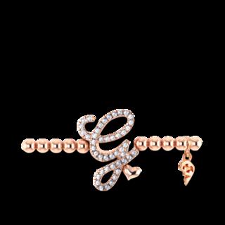 Capolavoro Armband mit Anhänger Poesia Flessibile Buchstabe G AB9BRW00300.G.INNEN.17