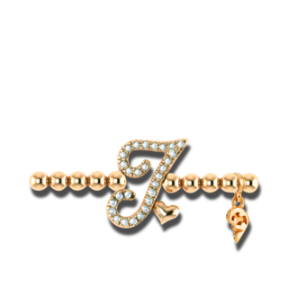 Capolavoro Armband mit Anhänger Poesia Flessibile Buchstabe I AB7BRW00300.I.INNEN.17