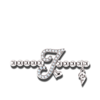 Capolavoro Armband mit Anhänger Poesia Flessibile Buchstabe I AB8BRW00300.I.INNEN.17