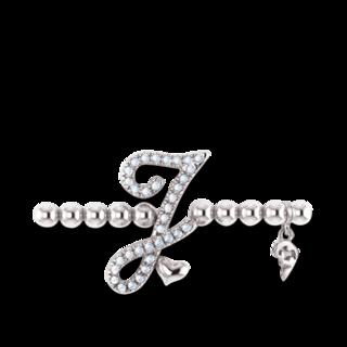 Capolavoro Armband mit Anhänger Poesia Flessibile Buchstabe J AB8BRW00300.J.INNEN.17