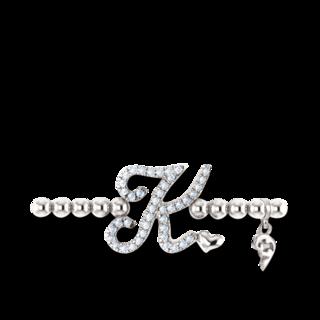 Capolavoro Armband mit Anhänger Poesia Flessibile Buchstabe K AB8BRW00300.K.INNEN.17