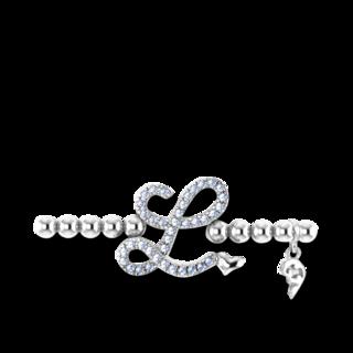Capolavoro Armband mit Anhänger Poesia Flessibile Buchstabe L AB8BRW00300.L.INNEN.17