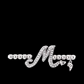 Capolavoro Armband mit Anhänger Poesia Flessibile Buchstabe M AB8BRW00300.M.INNEN.17