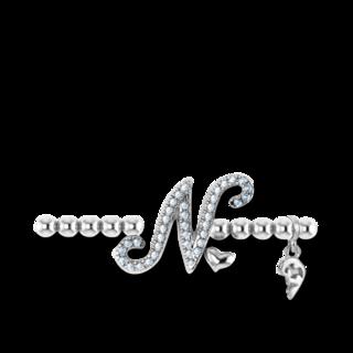 Capolavoro Armband mit Anhänger Poesia Flessibile Buchstabe N AB8BRW00300.N.INNEN.17