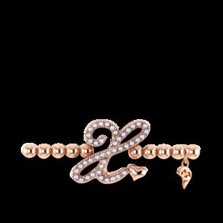 Capolavoro Armband mit Anhänger Poesia Flessibile Buchstabe X AB9BRW00300.X.INNEN.17