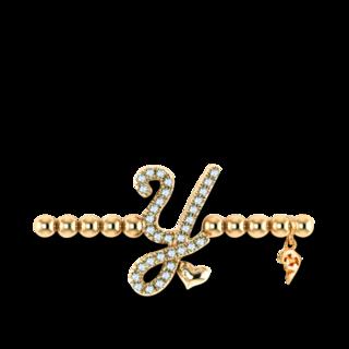 Capolavoro Armband mit Anhänger Poesia Flessibile Buchstabe Y AB7BRW00300.Y.INNEN.17