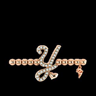 Capolavoro Armband mit Anhänger Poesia Flessibile Buchstabe Y AB9BRW00300.Y.INNEN.17