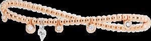 Armband Capolavoro Prosecco aus 750 Roségold mit 5 Brillanten (0,35 Karat)